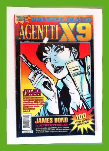 Agentti X9 1/92