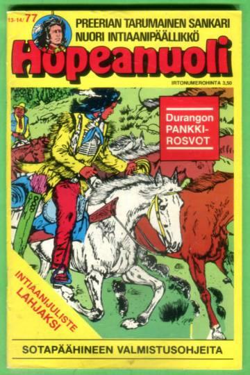 Hopeanuoli 13-14/77
