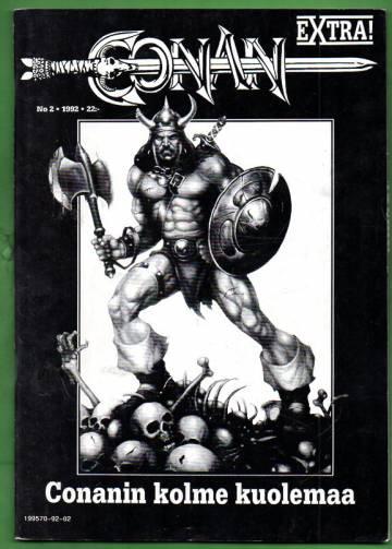 Conan-extra 2/92 - Conanin kolme kuolemaa