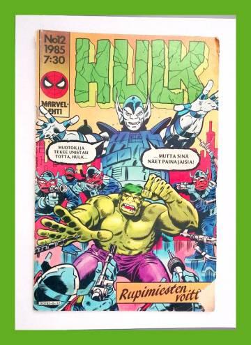Hulk 12/85