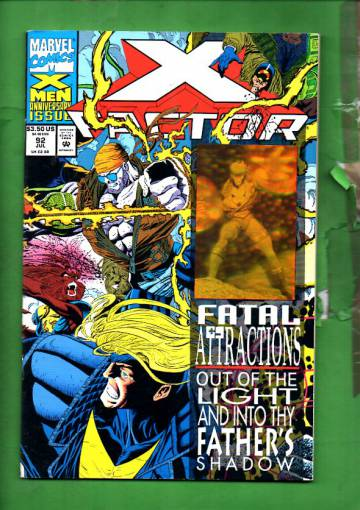 X-Factor Vol 1 #92 Jul 93