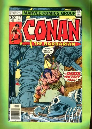 Conan The Barbarian Vol 1 #77 Aug 77