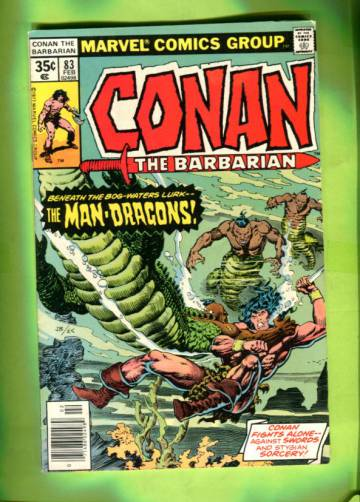 Conan The Barbarian Vol 1 # 83 Feb 78
