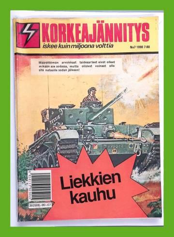 Korkeajännitys 7/90 - Liekkien kauhu
