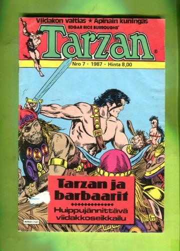 Tarzan 7/87