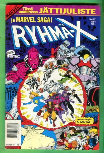Ryhmä-X 12/91 (X-Men) & Marvel Saga 10