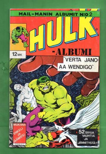 Mail-Manin albumit 2 - Hulk