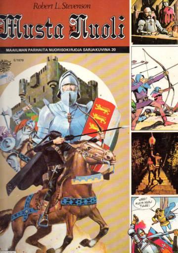 Sarjasuosikit 5/79 - Maailman parhaita nuorisokirjoja sarjakuvina 20: Musta nuoli