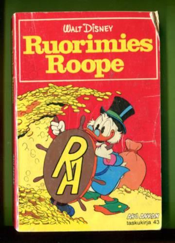Aku Ankan taskukirja 43 - Ruorimies Roope (1. painos)