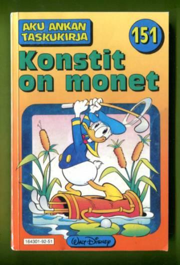 Aku Ankan taskukirja 151 - Konstit on monet