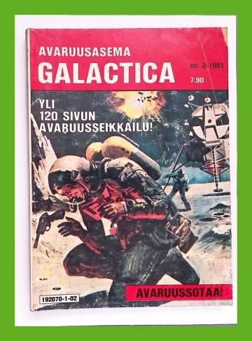 Avaruusasema Galactica 2/81