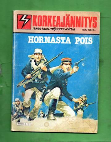 Korkeajännitys 13/83 - Hornasta pois