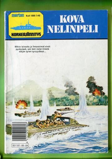 Merten korkeajännitys 4/89 - Kova nelinpeli