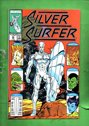 Silver Surfer Vol. 3 #20 Feb 89