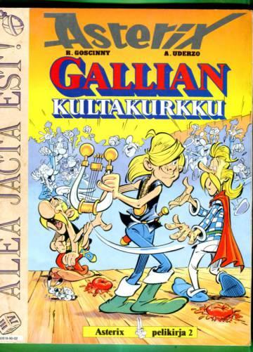 Asterix pelikirja 2 - Gallian kultakurkku