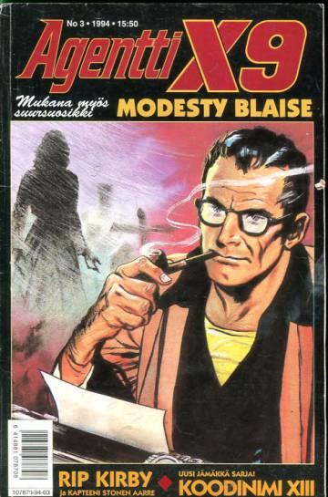 Agentti X9 3/94 (Modesty Blaise)