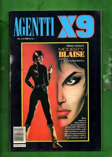 Agentti X9 3/90 (Modesty Blaise)