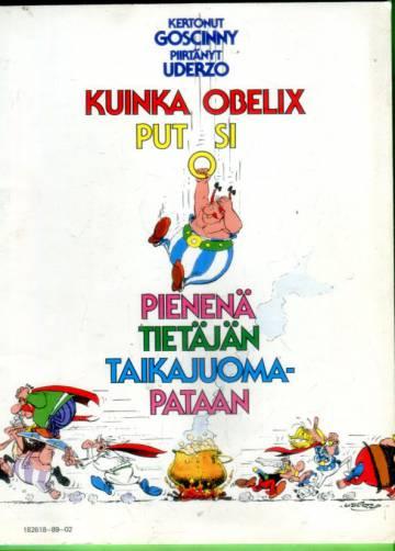 Asterix - Kuinka Obelix putosi pienenä tietäjän taikajuomapataan (1.painos)