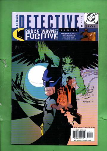 Detective Comics #770 Jul 02