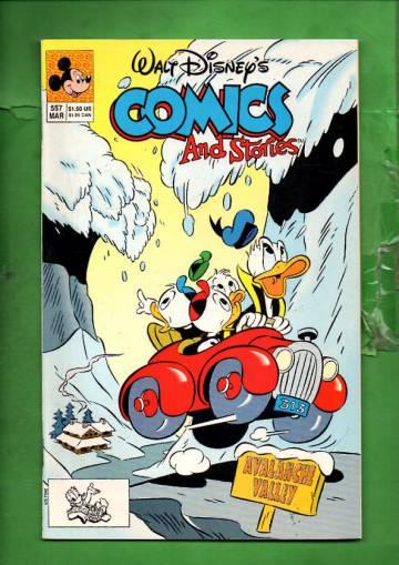 Walt Disney's Comics & Stories #557 Mar 91