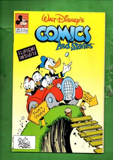 Walt Disney's Comics & Stories #561 Jul 91