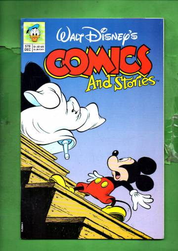 Walt Disney's Comics & Stories #578 Dec 92