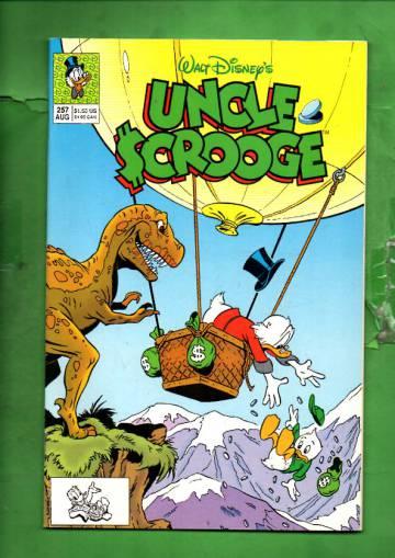 Walt Disney's Uncle Scrooge #257 Aug 91