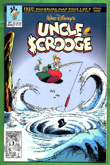 Walt Disney's Uncle Scrooge #267 Jun 92