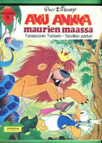 Klassikko 4 - Aku Ankka maurien maassa, Tarasconin Tartarin & Sevillan parturi