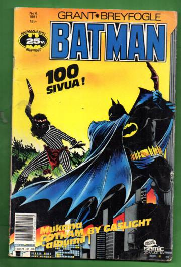 Batman 6/91