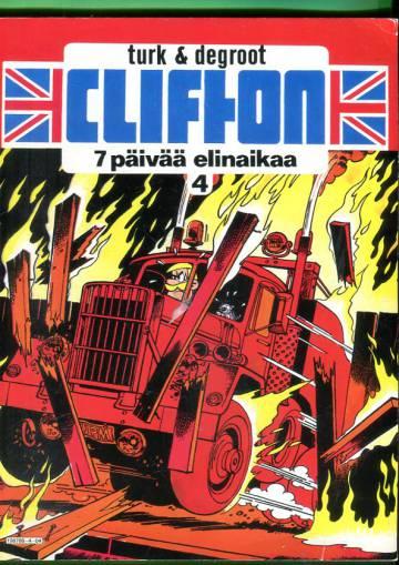 Clifton 4 - 7 päivää elinaikaa