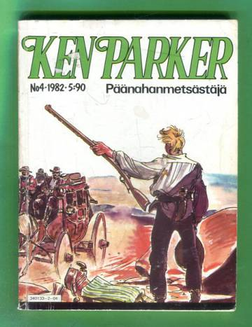 Ken Parker 4/82 - Päänahanmetsästäjä