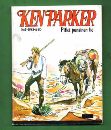 Ken Parker 5/82 - Pitkä punainen tie