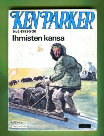 Ken Parker 5/81 - Ihmisten kansa