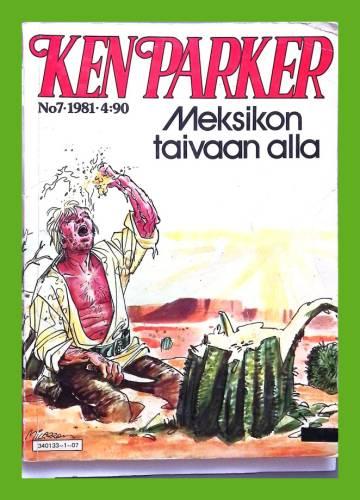 Ken Parker 7/81 (1/81) - Meksikon taivaan alla