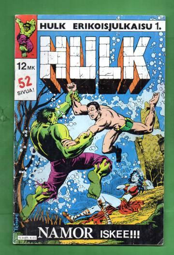 Hulk-erikoisjulkaisu 1 - Namor iskee!!!
