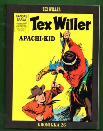 Tex Willer -kronikka 26 - Apachi-Kid & Dakotojen sanoma