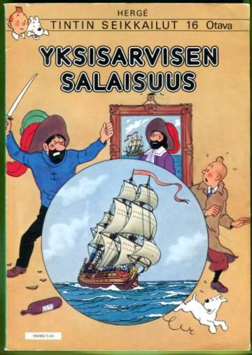 Tintin seikkailut 16 - Yksisarvisen salaisuus
