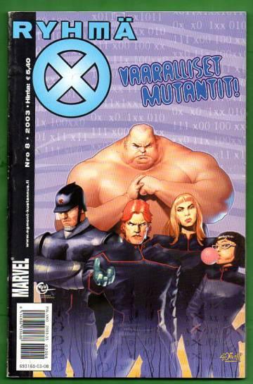X-Men 8/03 (Ryhmä-X)