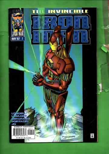 Iron Man Vol. 2 #7 May 97