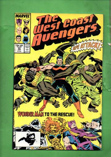 West Coast Avengers Vol. 2 #33 Jun 88