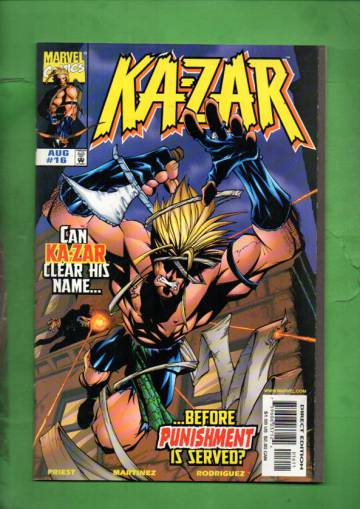 Ka-Zar Vol. 2 #16 Aug 98