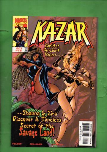 Ka-Zar Vol. 2 #18 Oct 98