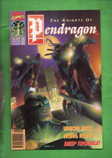 The Knights of Pendragon #15 Sep 91