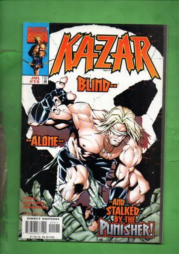 Ka-Zar Vol. 2 #15 Jul 98