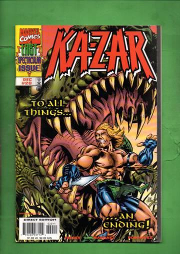 Ka-Zar Vol. 2 #20 Dec 98