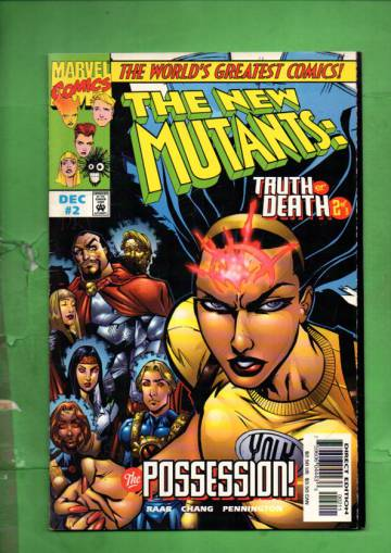New Mutants: Truth or Death Vol. 1 #2 Dec 97