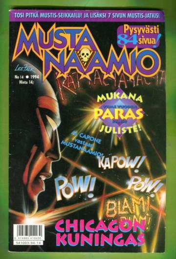 Mustanaamio 14/94 + juliste
