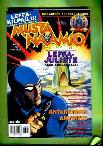 Mustanaamio 22/96 + juliste