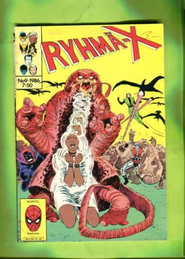 Ryhmä-X 9/86 (X-Men)